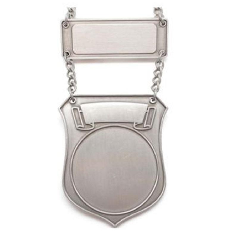Schild Zilver €22,50